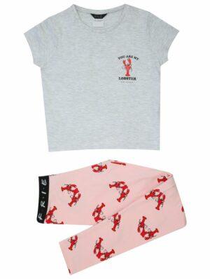 Teen Girl Lobster Friends Pyjamas